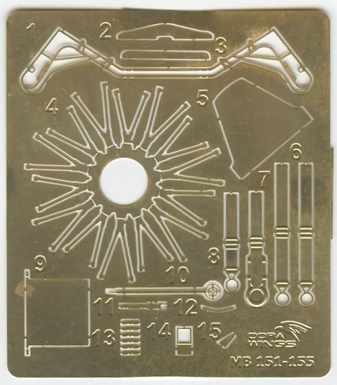 Ouvre-boîte Bloch 151 C1 Dorawings 1/48  Dora_421