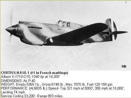 Curtiss H81A1(P40A)   Airfix 1/48 Fini French10