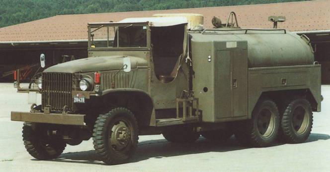 US 2 1/2 ton 6x6 airfield fuel truck _ Tamiya ech 1/48 Gmc-cc10