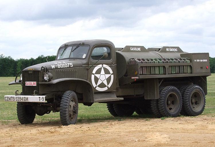 US 2 1/2 ton 6x6 airfield fuel truck _ Tamiya ech 1/48 Gmc-ga10