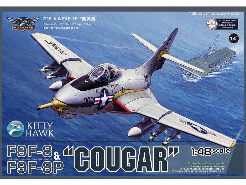 F9F-8 COUGAR Blue Angels (Hasegawa) 1/72 Grumma10