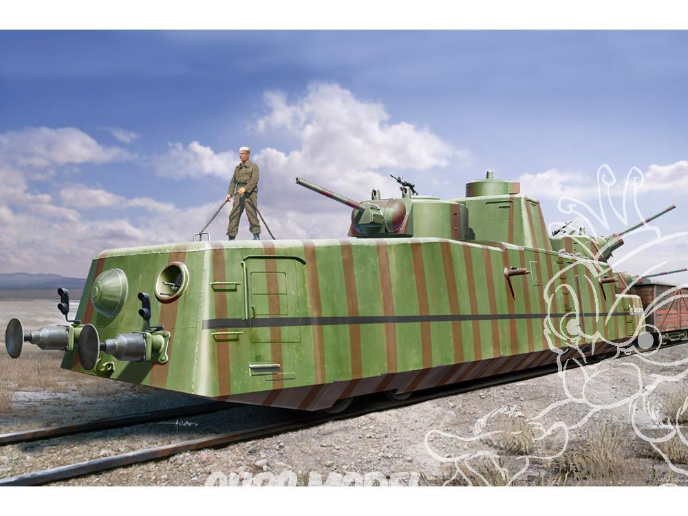 Motorized Armored Railcar MBV-2 au 1/72 de chez Military UM technics Hobby-13