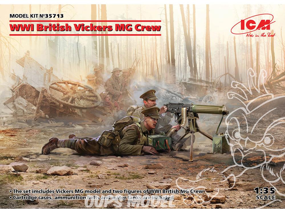 Infanterie canadienne du CEC- Festubert 1915 (1/35) Icm-ma18