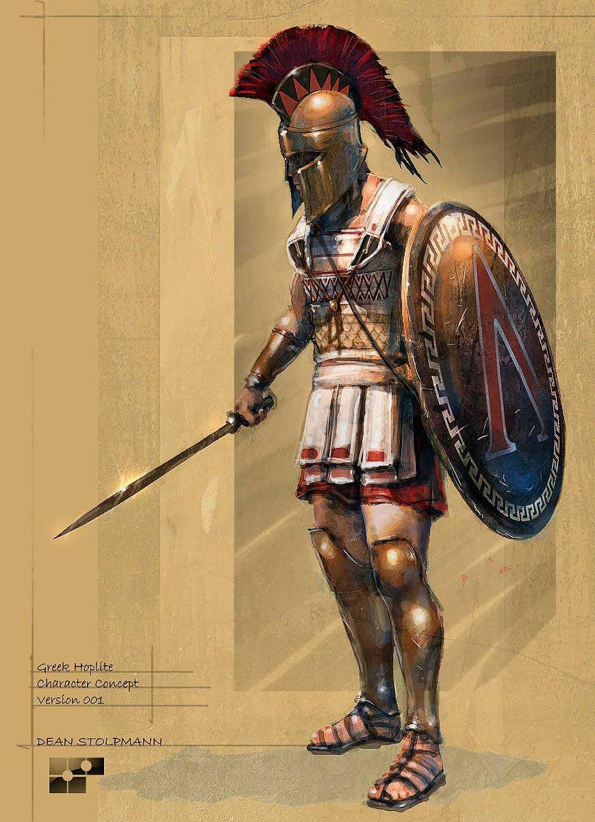 Hoplite Lacédémonien ( Spartiate) Miniart 1/16  - Page 2 Image-10