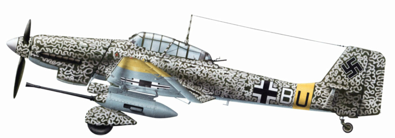 junkers JU 87 G/D Tank Buster  1/72 REVELL FINI !!!!!! Ju_87_14