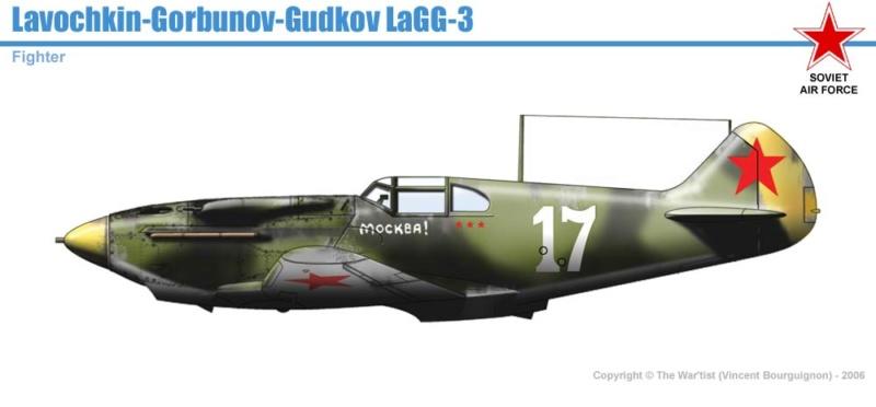 Лавочкин-Горбунов-Гудков ЛаГГ-3 ICM 1/48 ( LaGG-3 )Fini - Page 2 Lagg-310