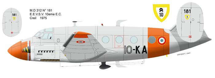 "Dassault MD-312 ""Flamant"" (Fonderie Miniature 1/48) Md31210"