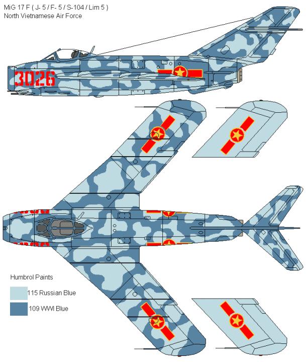 MiG-17 F Fresco C Égyptien ( Hobby Boss 1/48)  Mig_1710