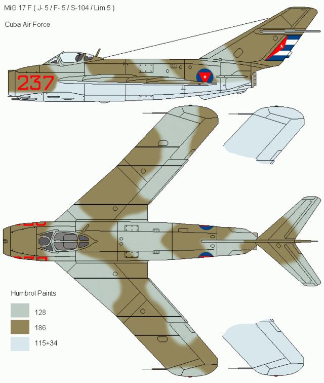 MiG-17 F Fresco C Égyptien ( Hobby Boss 1/48)  Mig_1711