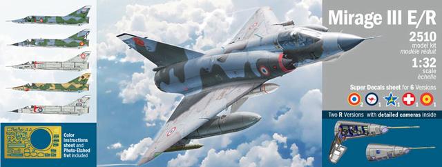 Mirage III EL 1/48 Kinetic (defi au trésorier de l' AMO61) Mirage11
