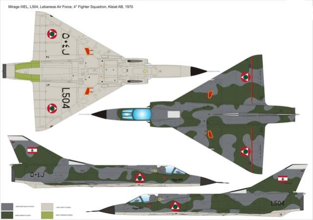 Mirage III EL 1/48 Kinetic (defi au trésorier de l' AMO61) Mirage12