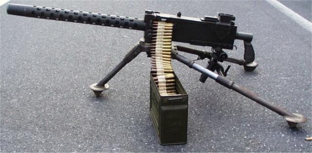 Quelle couleur pour les armes de mes soldats d'infanterie US fini!!! Mitrai10