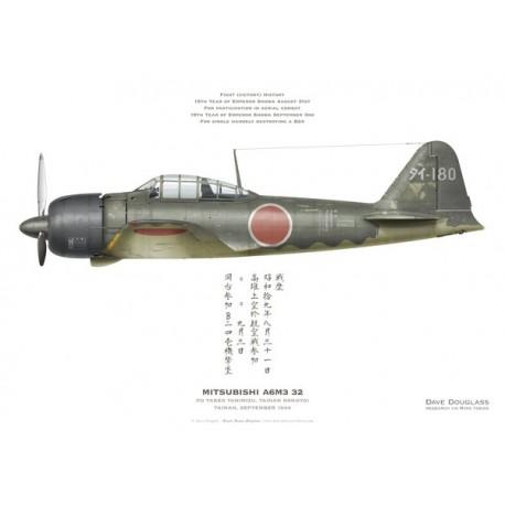 A6M3 Reisen type 32 Hamp ( ZERO) 1/48 Hasegawa Mitsub10