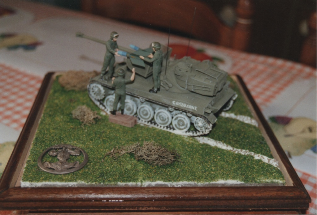 AMX 13 tourelle Chaffee (Takom 1/35°) terminé Numzo104