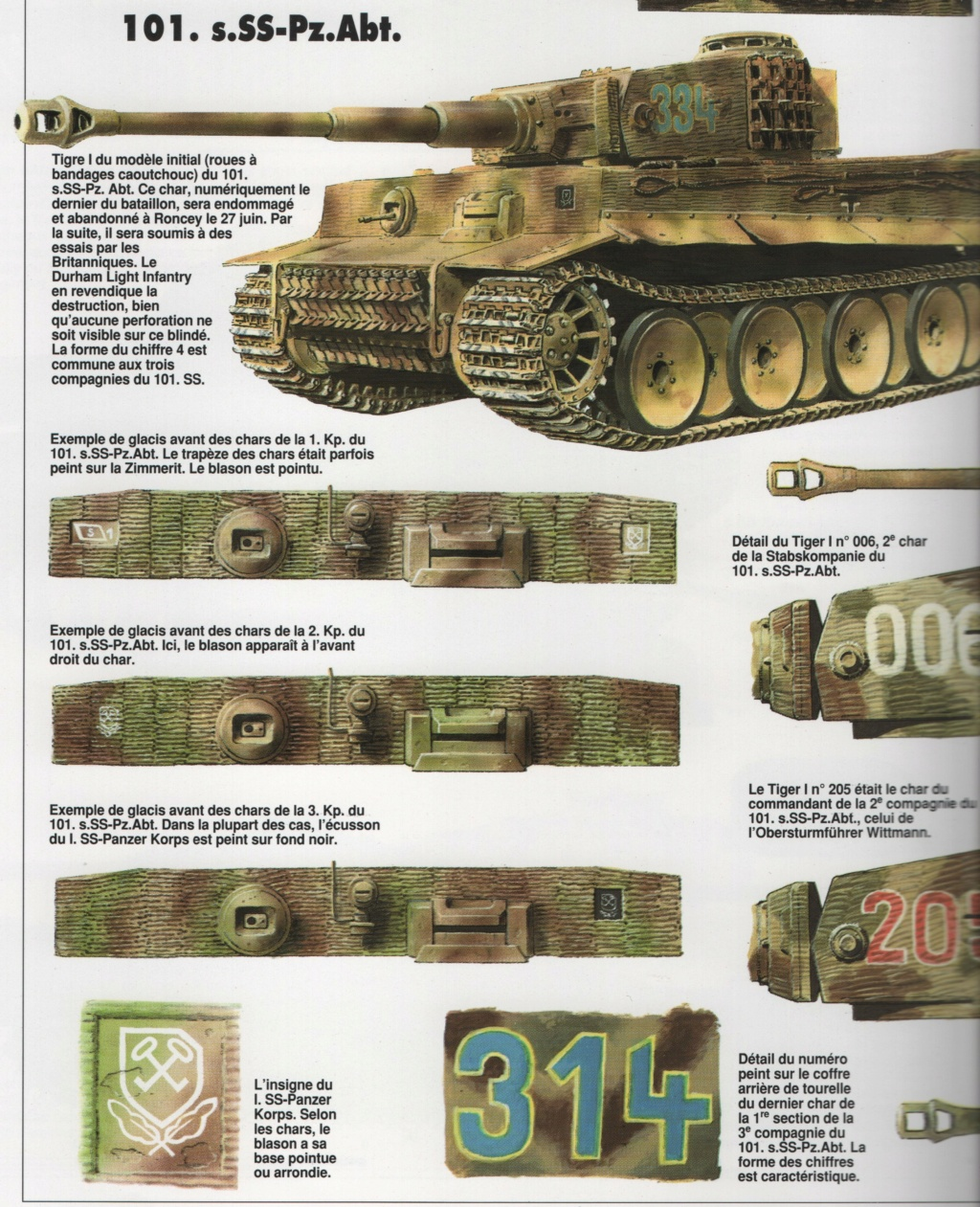 Tiger I milieu production au 1/35 de tamiya  Numzo112