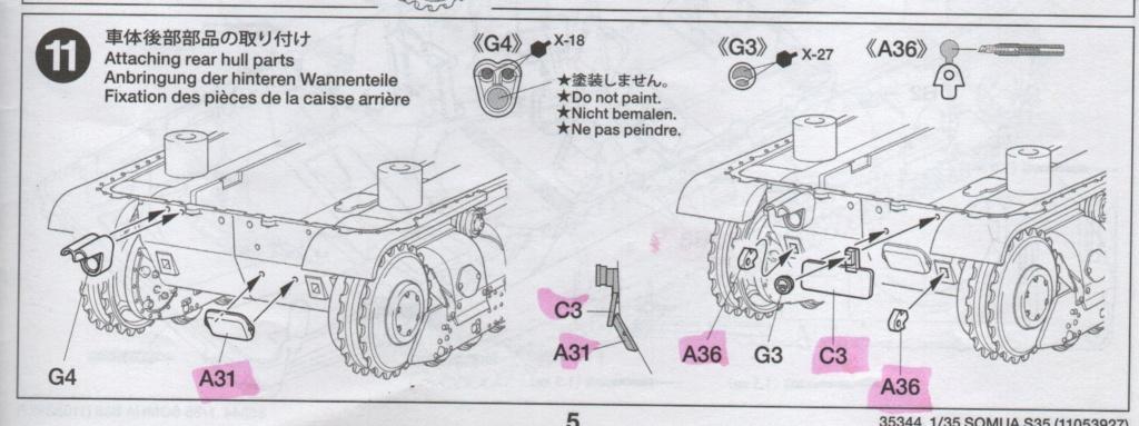 Somua S 40 ARL2C  (Tamiya / BMV 1/35 ) - Page 3 Numzo145