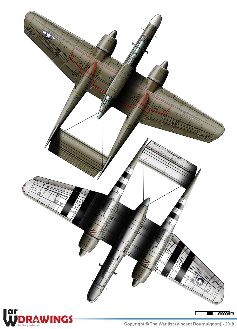 [BILEK/FROG] Northrop P61 Black Widow P23110