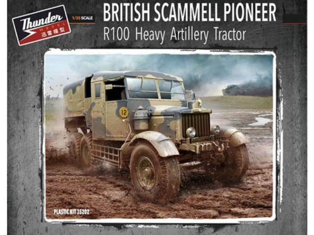 Scamell Pioneer R100 HAT (Heavy Artillery Tractor) Thundermodel 1/35 Pkthu310