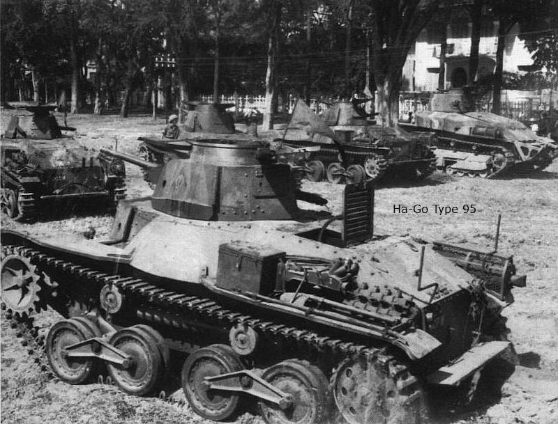 "Type 95 Ha-Go "" Royal Pologne"" Dragon 1/35 Prise-22"