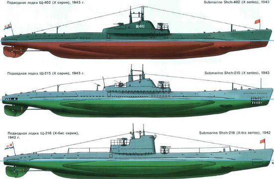 Sous marin Soviétique  SHCHUKA  classe X   (ZVEDA  1/144)    FINI R2cef610