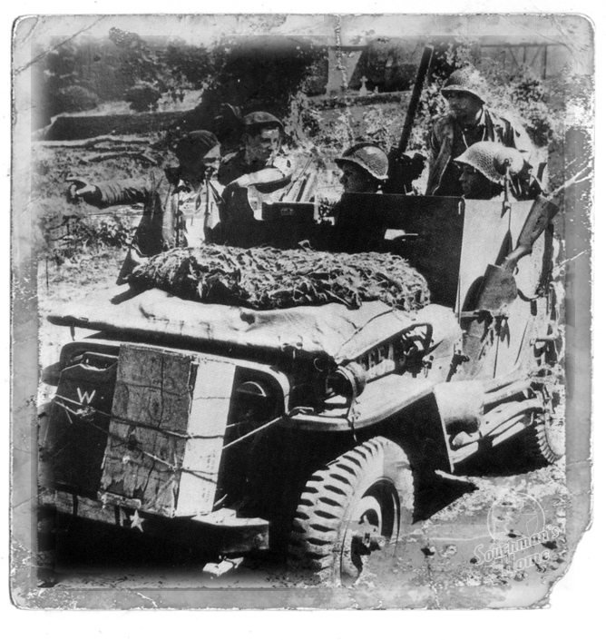 US Army 1/4 ton Armored Truck = Jeep Blindée ( Takom 1/35) R_210