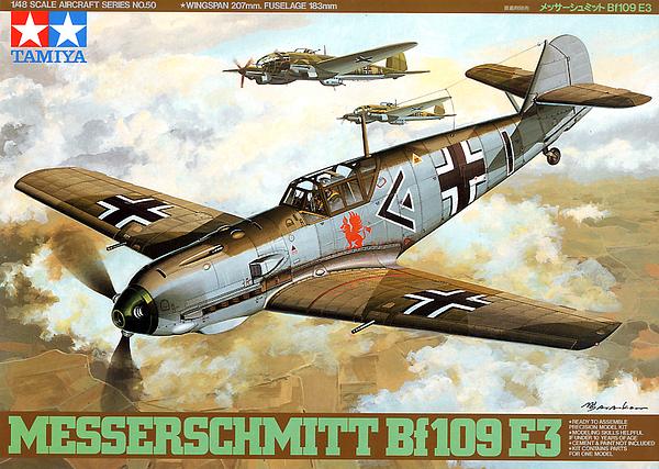 Bf.109E-3  Flugwaffe septembre 1944 ( Tamiya 1/48) Tam61010