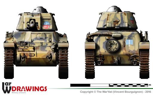 R-35 131 Regimento Carristi CII ( 2éme Compagnie) Tamiya 1/35 Unname45