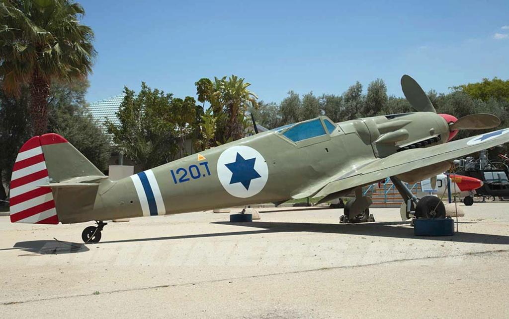 Avia S 199 Ezer Weizman 1948 ( Academy/Hobbycraft 1/48) סופית = FINI Z-20-i10