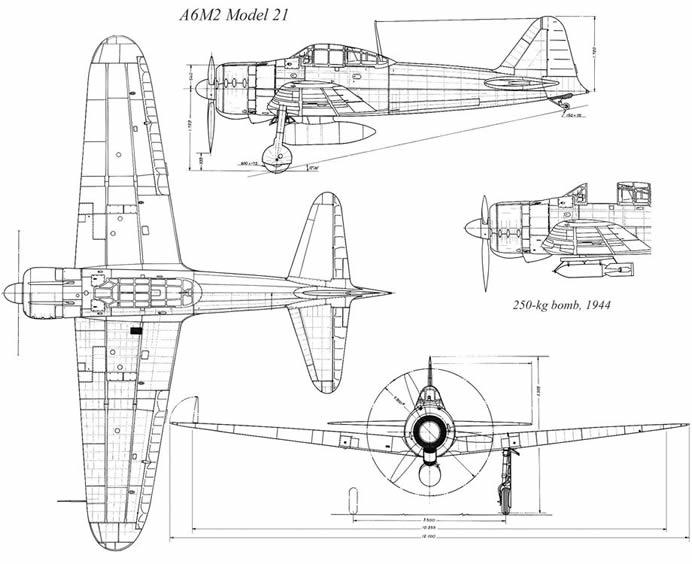 A6M3 Reisen type 32 Hamp ( ZERO) 1/48 Hasegawa Fini - Page 2 Zero-a10