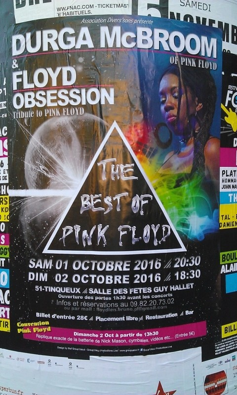 Tribute to Pink Floyd - Floyd Obession (groupe français) Affich10