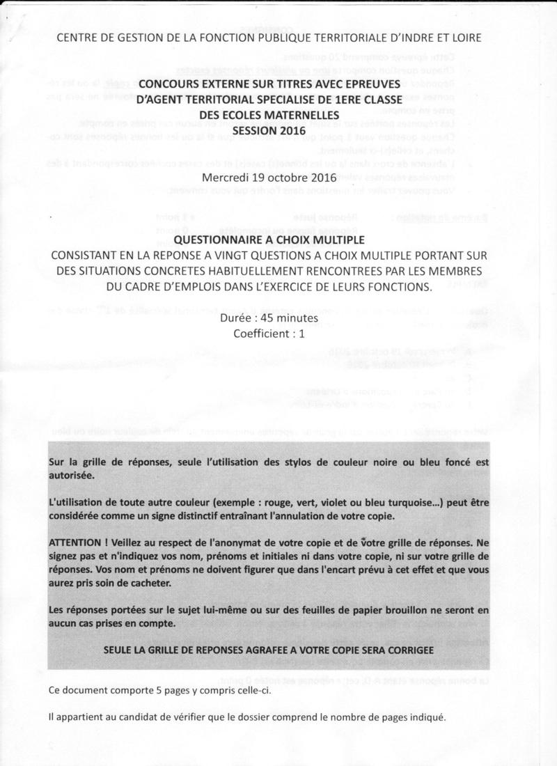 QCM 2016 CDG D'INDRE ET LOIRE (37) Qcm_2014