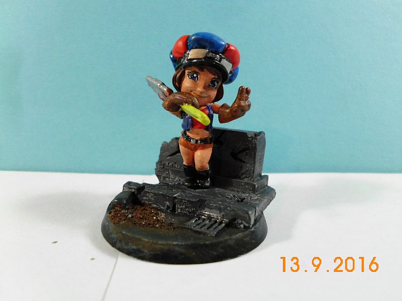 Scale75 - Smog Riders 35mm Patty Wrench - Fertig 116