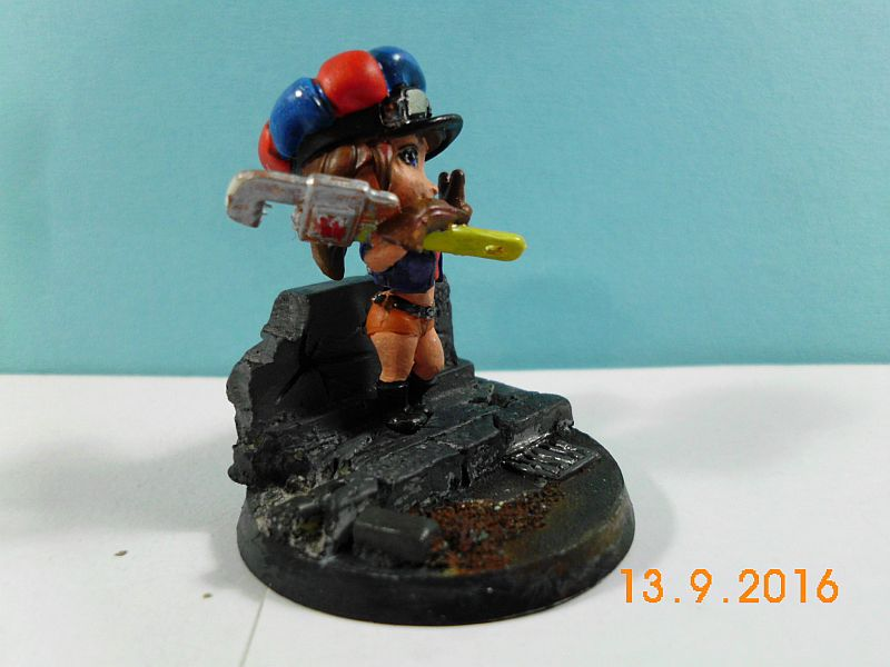 Scale75 - Smog Riders 35mm Patty Wrench - Fertig 215