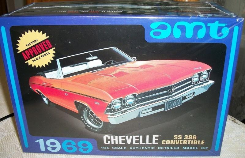 1969 Chevrolet Chevelle SS 396 Convertible in 1/25 von amt Amt82311
