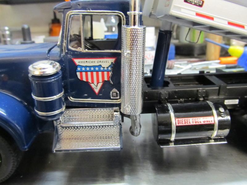 Kenworth W900 Dump Truck (Revell 07406) Maßstab 1 zu 25 Img_6011