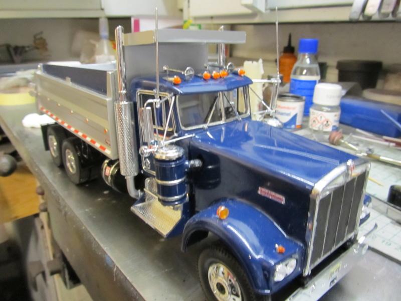 Kenworth W900 Dump Truck (Revell 07406) Maßstab 1 zu 25 Img_6012