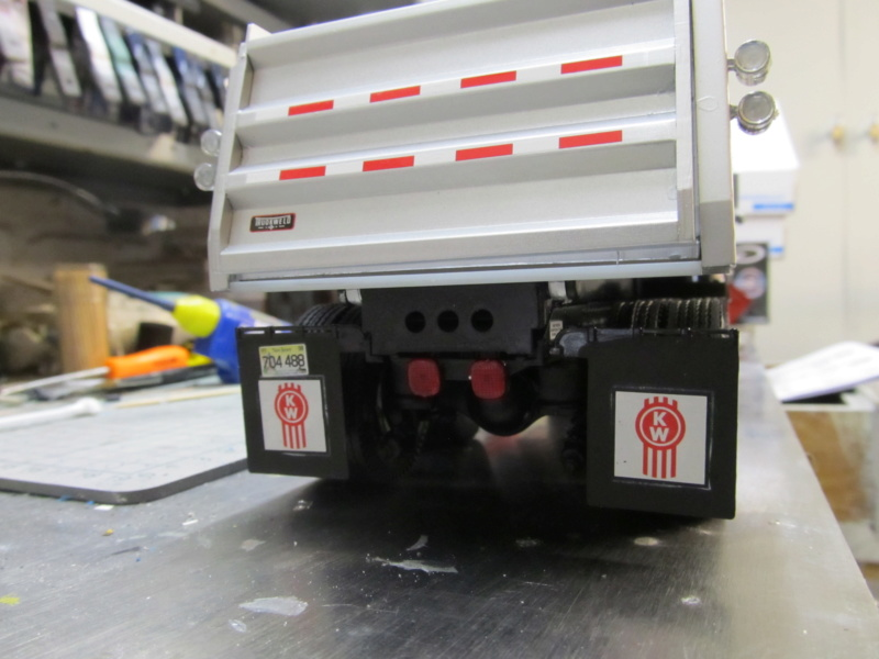 Kenworth W900 Dump Truck (Revell 07406) Maßstab 1 zu 25 Img_6015