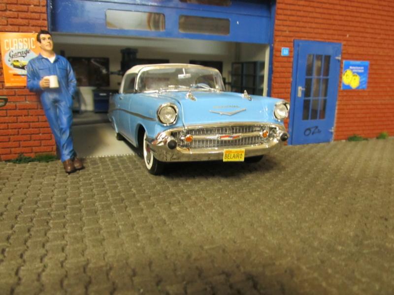 1957 Chevrolet Chevrolet Bel Air Convertible (Revell 1 zu 25) Img_6125
