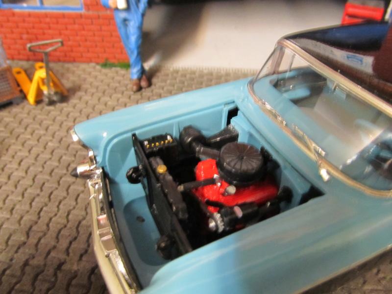 1957 Chevrolet Chevrolet Bel Air Two Door Sedan (Revell 1 zu 25) Img_6413