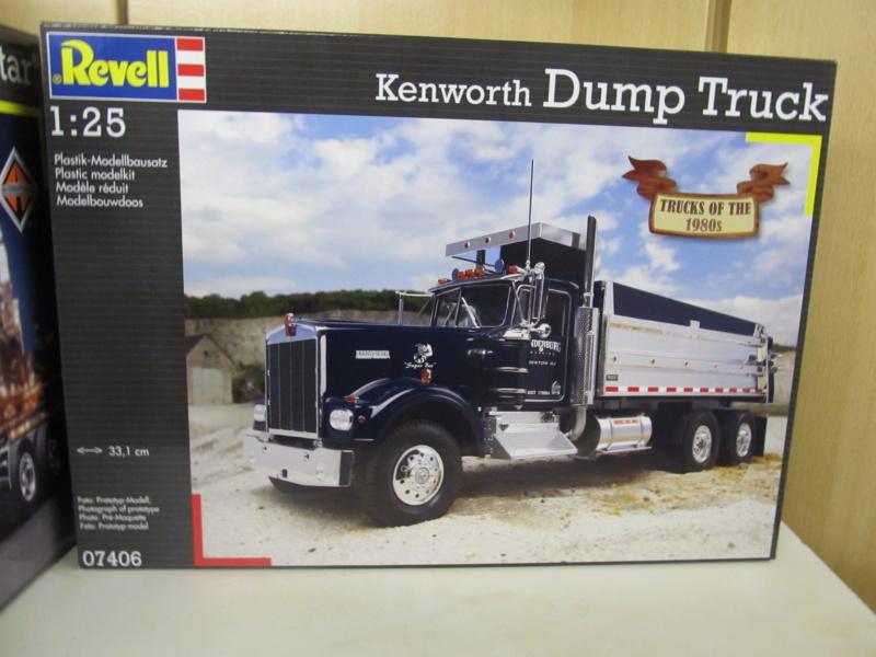 Kenworth W900 Dump Truck (Revell 07406) Maßstab 1 zu 25 Kenwor10