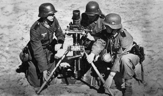 Le bataillon d'infanterie Allemand 1939 à 1945 34710