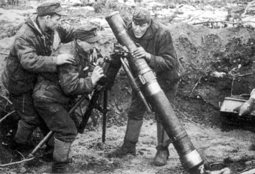 Le bataillon d'infanterie Allemand 1939 à 1945 Mortie10