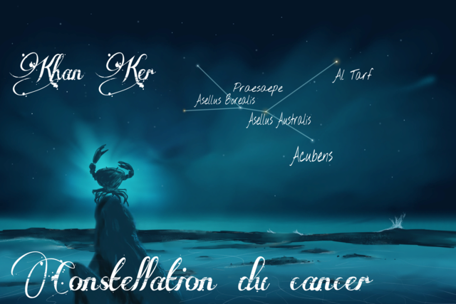 Constellations du zodiaque Biblique  Mazzaroth en Hébreu Cancer10