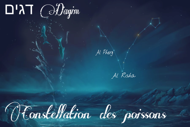 Constellations du zodiaque Biblique  Mazzaroth en Hébreu Poisso10