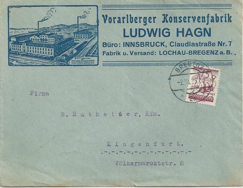 Werbeumschläge und -karten aus Österreich - Seite 5 Bild14