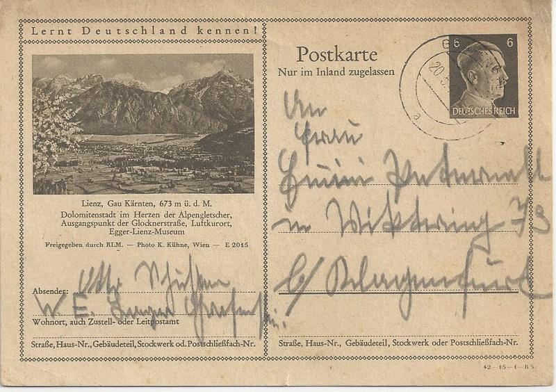 Sammlung Bedarfsbriefe Österreich ab 1945 - Seite 7 Bild32