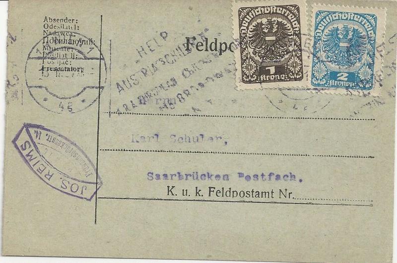 Inflation in Österreich - Belege - 1918 bis 1925 - Seite 7 Bild_210