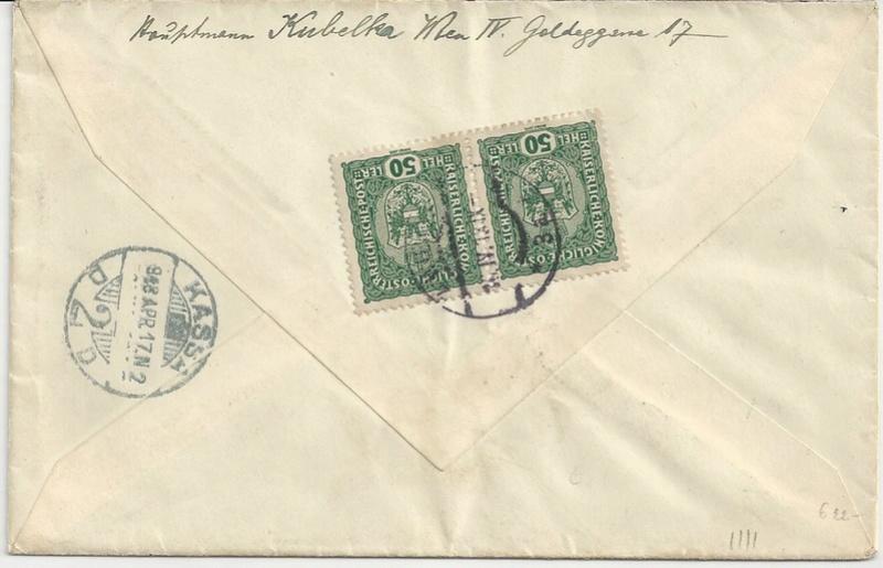Die Auslandsexpreßgebühr ab 1.9.1918 Bild_216