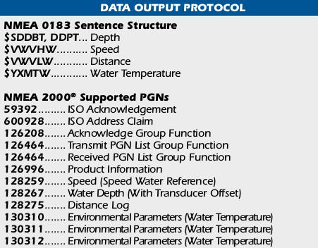 SONDE DE PROFONDEUR DST800V Captur10