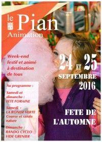 Fête de l'Automne 2016 le 24 et 25 Septembre 2016 à Le Pian Médoc 42eb6e10